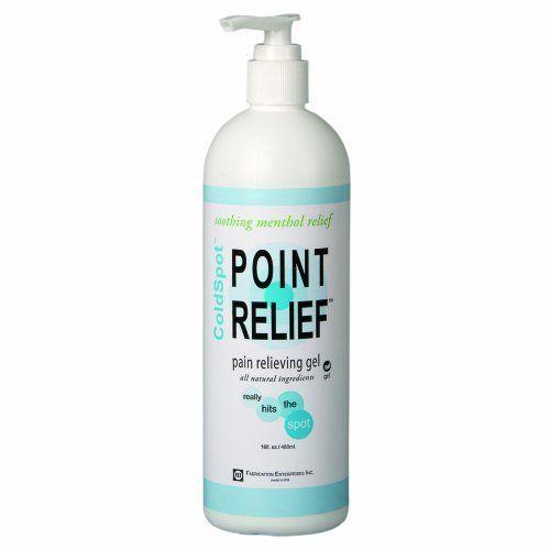 Point Relief Coldspot Pain Relief Gel Pump, 16 Oz