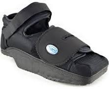 Black Heel Wedge Shoe, Large, Unisex, EACH