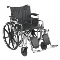 Sentra EC 22″ Heavy Duty Wheelchair, Extra Wide, 450 Lb