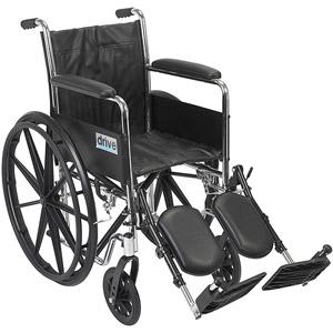 20″ Wheelchair Silver Sport 2 Removable Desk