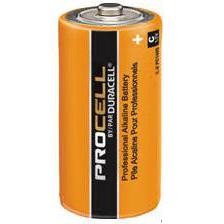 Duracell ProCell Alkaline C 1.5 Volt,  CASE OF 72