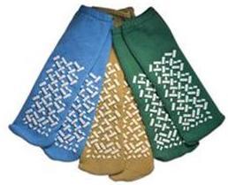 Anti-Skid Terry Slipper Socks, 2 X-Large, CASE OF 48