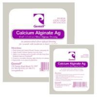 Calcium Alginate AG 12″ Rope W/ Silver, BOX OF 6