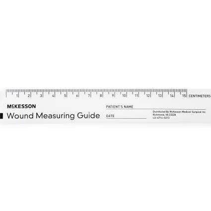 Non-Sterile Wound Measuring Device, 6″ Paper, BOX OF 600