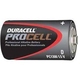 Duracell ProCell Alkaline D 1.5 Volt, CASE OF 72