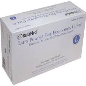 Latex Powder-Free Examination Gloves, Large,CASE OF 1000