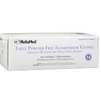 Latex Powder-Free Examination Gloves, Medium,CASE OF 1000