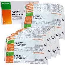 OpSite Flexigrid Film Transparent Dressing ,4″x4 3/4″,BOX OF 50